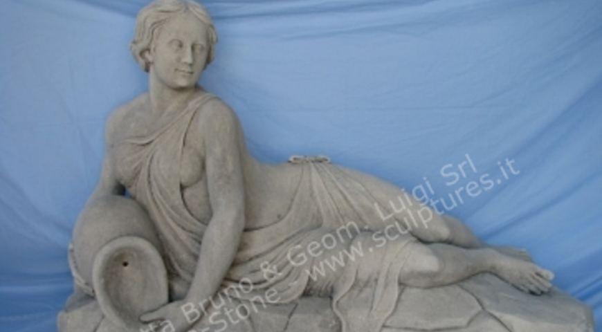 314 Lying Woman Statue