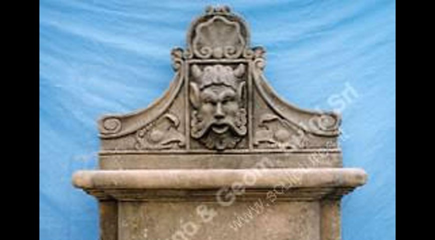 020 - Wall Fountain with Mask
