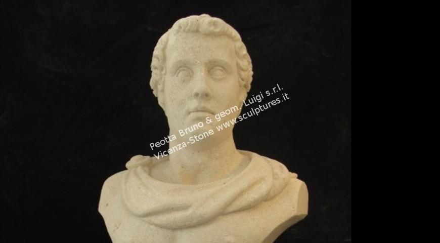 349 - Roman Bust