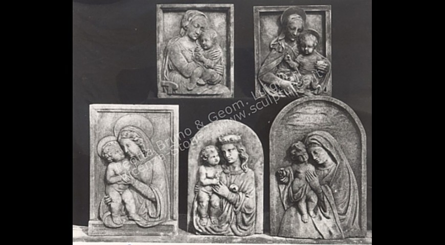 R9 - Stone Carved Wall Panels with Religious Representations