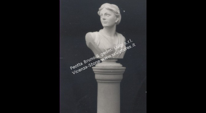 343 - Bust on Column