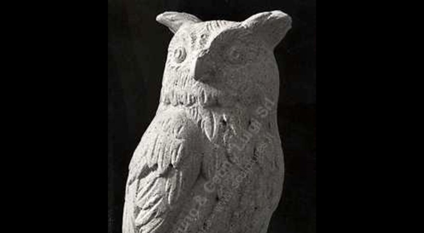 109 Owl Sculpture