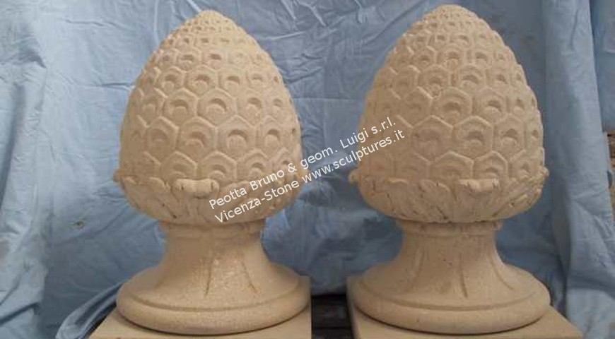 202 Pineapple Finials