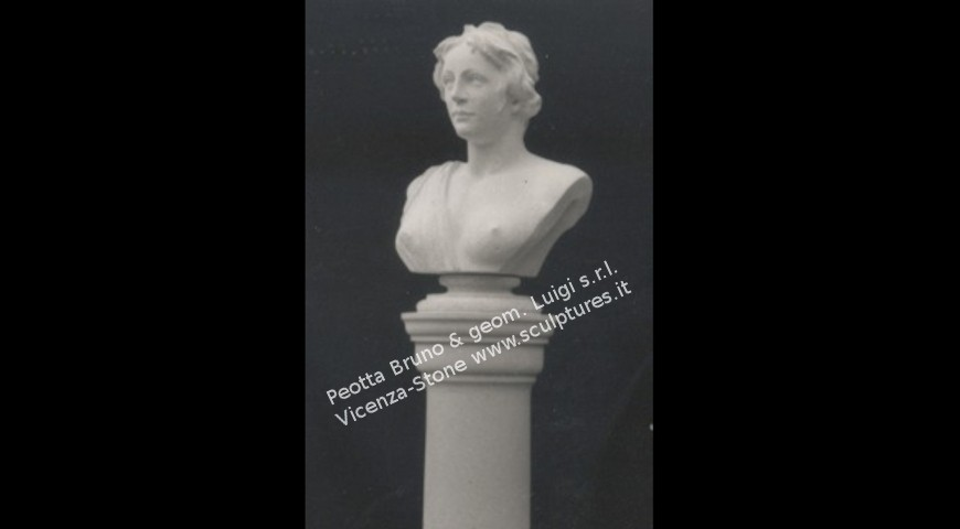 342 - Bust on Column