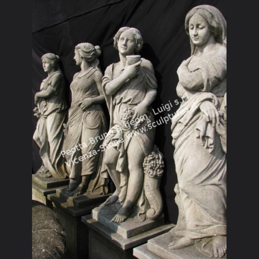 R009 Four Seasons Statues