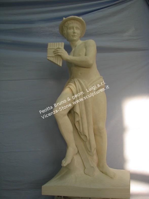 454 Mercury Statue