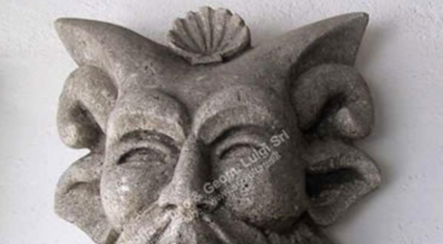 159 Ancient Allegoric Mask