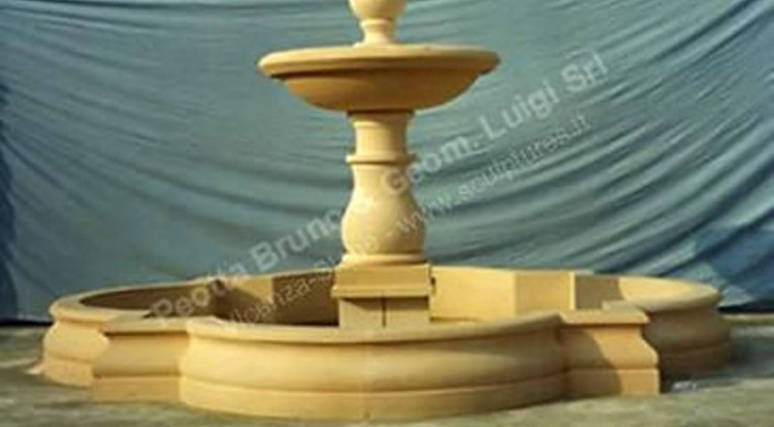 029  - One Tier Fountain with Coping
