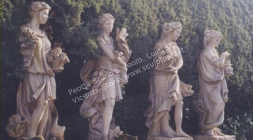 361 Four Season Statues