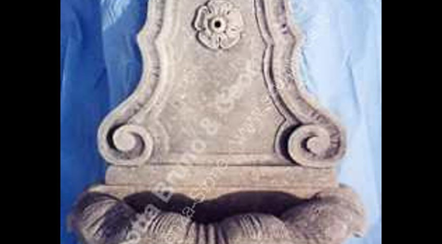 128  - Wall Fountain with Rosetta
