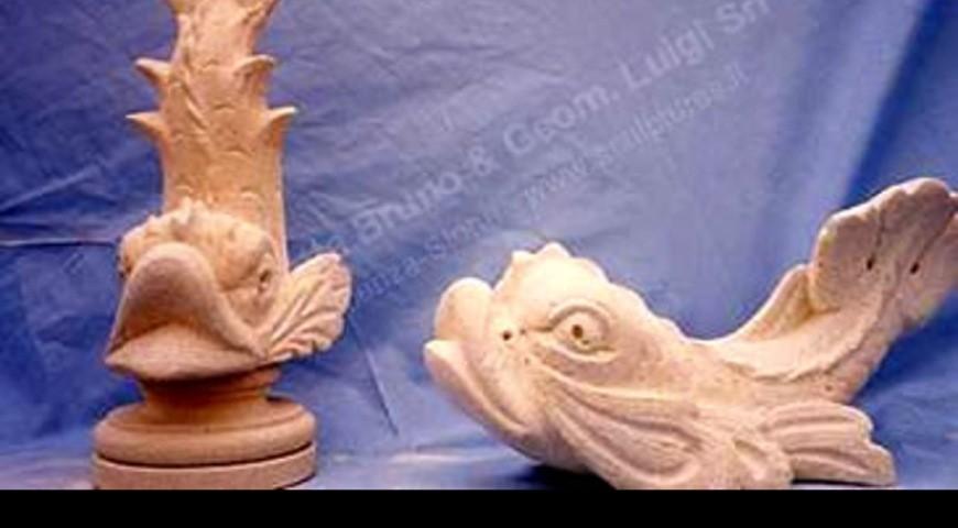 107 Dolphins Sculptures