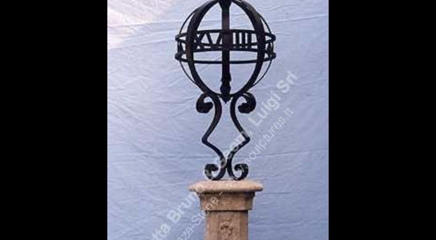 142 Iron Sundial
