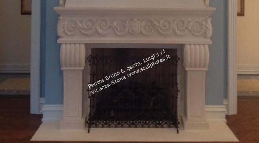 450 - Stone Fireplace