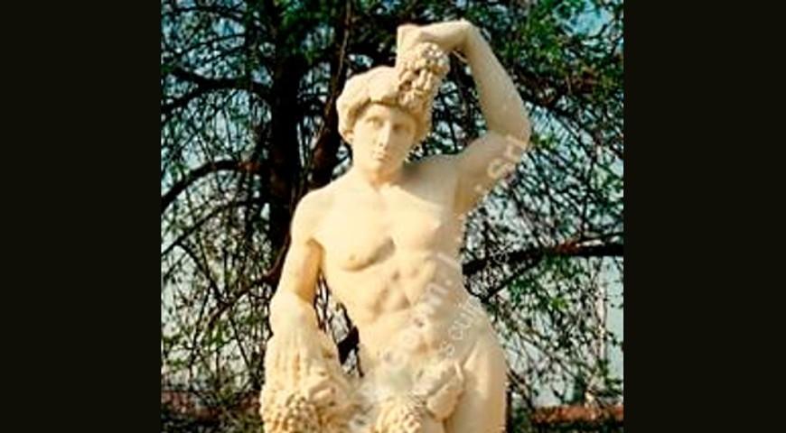 067 Bacchus Statue