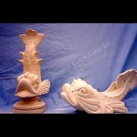 107 Dolphins Sculptures