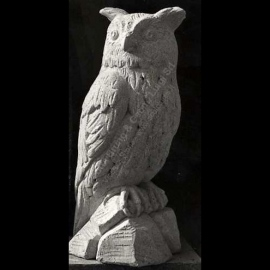 109 Owl Sculpture