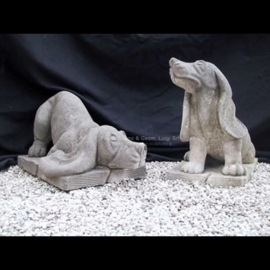 156 Hand Carved Dogs