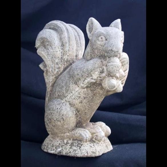 Peotta bruno squirrel sculpture squirrel carved stone statue sculptures garden sculptures animals 157 squirrel workwithnaturefo
