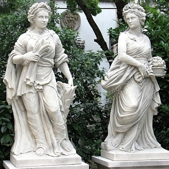 Vicenza Stone Statues, Hand Made Stone