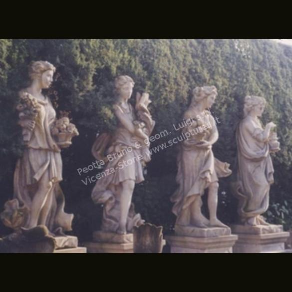 Limestone Statues, Italian Stone Statues