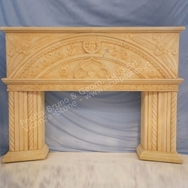 301 Gothic Fireplace