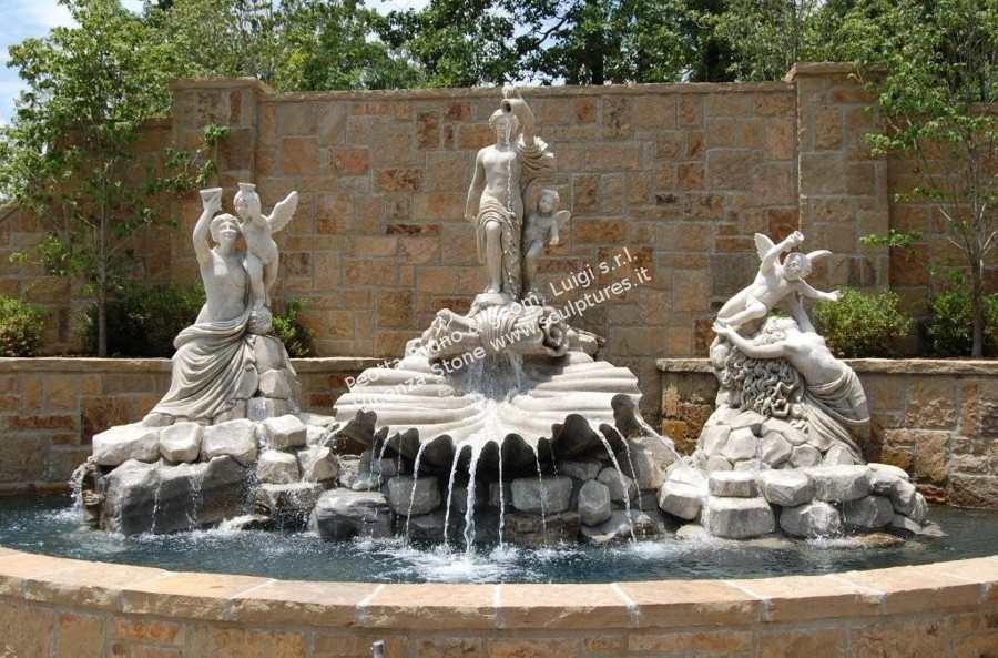 Peotta bruno sculture da giardino statue da giardino e - Fontane da giardino usate ...