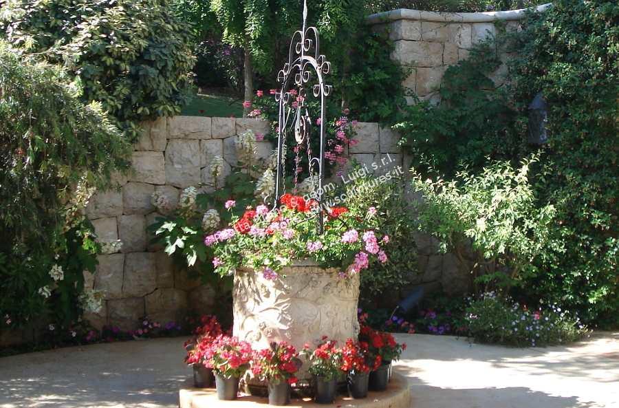 Peotta bruno sculture da giardino statue da giardino e for Come costruire una cabina di pietra