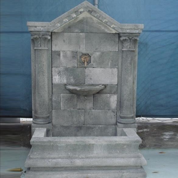 Peotta bruno fontana a muro in pietra fontana a muro - Fontane a muro da giardino ...