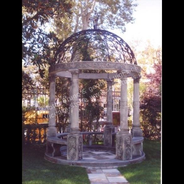 Foto Giardini Con Gazebo.Peotta Bruno Gazebo In Pietra Di Vicenza Con Cupola In