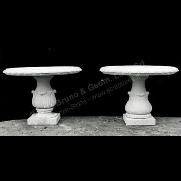 Peotta bruno tavoli da giardino in pietra tavolo per - Tavolo in pietra giardino ...