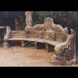 Panche In Pietra Da Giardino.Peotta Bruno Panche E Tavoli Da Giardino In Pietra Di Vicenza