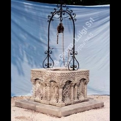 Peotta bruno pozzi da giardino pozzi in pietra per for Pozzi in pietra da giardino