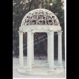 379 Gazebo with Rosettes