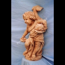 061 Putto with Dolphin